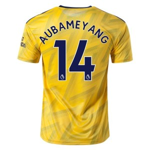 Pierre-Emerick Aubameyang Arsenal 19/20 Away Jersey by adidas