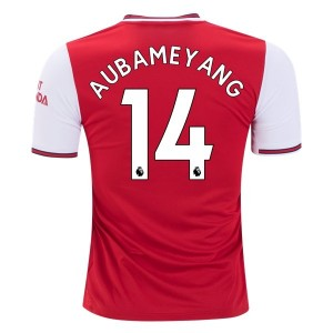 Pierre-Emerick Aubameyang Arsenal 19/20 Home Jersey by adidas