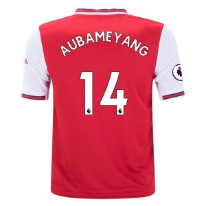 Pierre-Emerick Aubameyang Arsenal 19/20 Youth Home Jersey by adidas