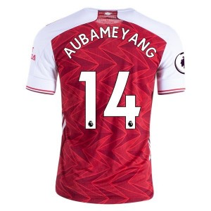 Pierre-Emerick Aubameyang Arsenal 20/21 Authentic Home Jersey by adidas