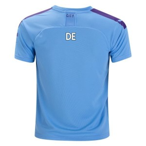 PUMA Kevin De Bruyne Manchester City Youth Home Jersey 19/20