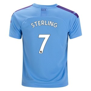 Raheem Sterling Manchester City 19/20 Home Jersey by PUMA