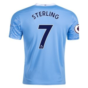Raheem Sterling Manchester City Home Jersey by PUMA