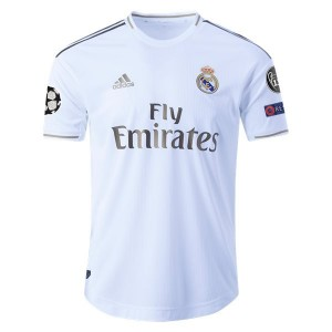 Real Madrid 19/20 Authentic UCL Home Jersey by adidas