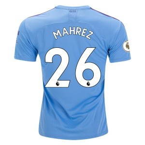 Riyad Mahrez Manchester City 19/20 Authentic Home Jersey by PUMA