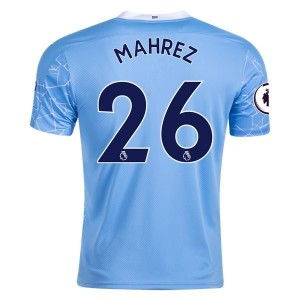 Riyad Mahrez Manchester City Home Jersey by PUMA