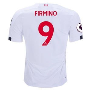 Roberto Firmino Liverpool 19/20 Away Jersey by New Balance
