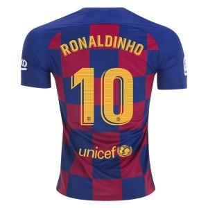Ronaldinho Barcelona 19/20 Home Jersey by Nike