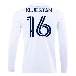 Sacha Kljestan LA Galaxy 2020 Long Sleeve Home Jersey by adidas