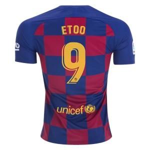 Sam Eto'o Barcelona 19/20 Home Jersey by Nike