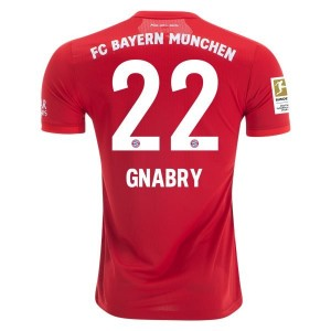 Serge Gnabry Bayern Munich 19/20 Authentic Home Jersey by adidas
