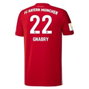 Serge Gnabry Bayern Munich 2020/21 Home Jersey by adidas