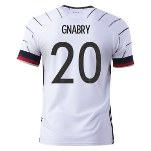 Serge Gnabry Germany Euro 2020 Home Jersey by adidas
