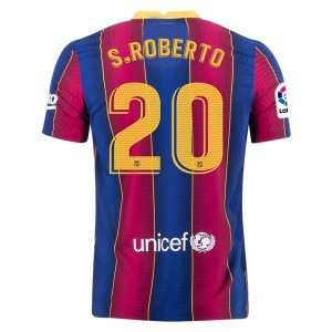 Sergi Roberto Barcelona 20/21 Authentic Home Jersey by Nike