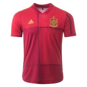 Spain Euro 2020 Authentic Home Jersey by adidas