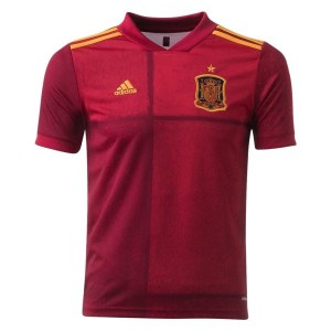 Spain Euro 2020 Youth Home Jersey by adidas