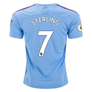 Sterling Manchester City 19/20 Home Jersey by PUMA