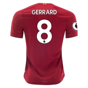 Steven Gerrard Liverpool 19/20 Home Jersey by New Balance