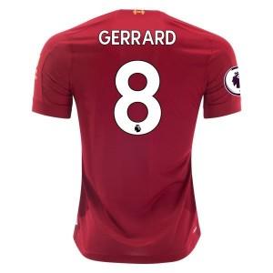 Steven Gerrard Liverpool 19/20 Home Jersey by New Balance