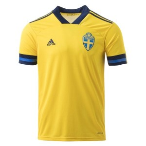 Sweden Euro 2020 Home Jersey by adidas