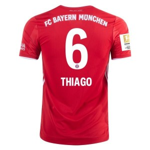 Thiago Alcântara Bayern Munich 2020/21 Authentic Home Jersey by adidas