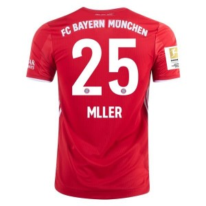 Thomas Müller Bayern Munich 2020/21 Authentic Home Jersey by adidas