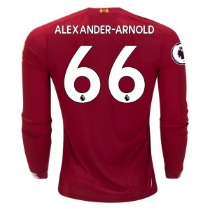 Trent Alexander-Arnold Liverpool 19/20 Long Sleeve Home Jersey by New Balance