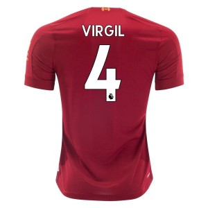 Virgil van Dijk Liverpool 19/20 Home Jersey by New Balance