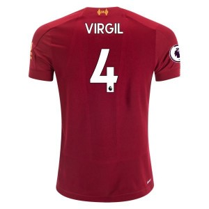 Virgil van Dijk Liverpool 19/20 Youth Home Jersey by New Balance