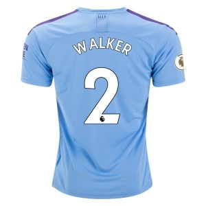 Walker Manchester City 19/20 Home Jersey by PUMA