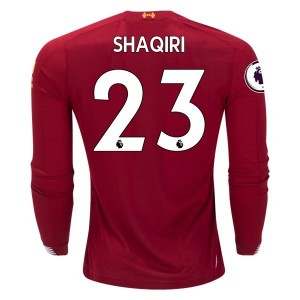 Xherdan Shaqiri Liverpool 19/20 Long Sleeve Home Jersey by New Balance